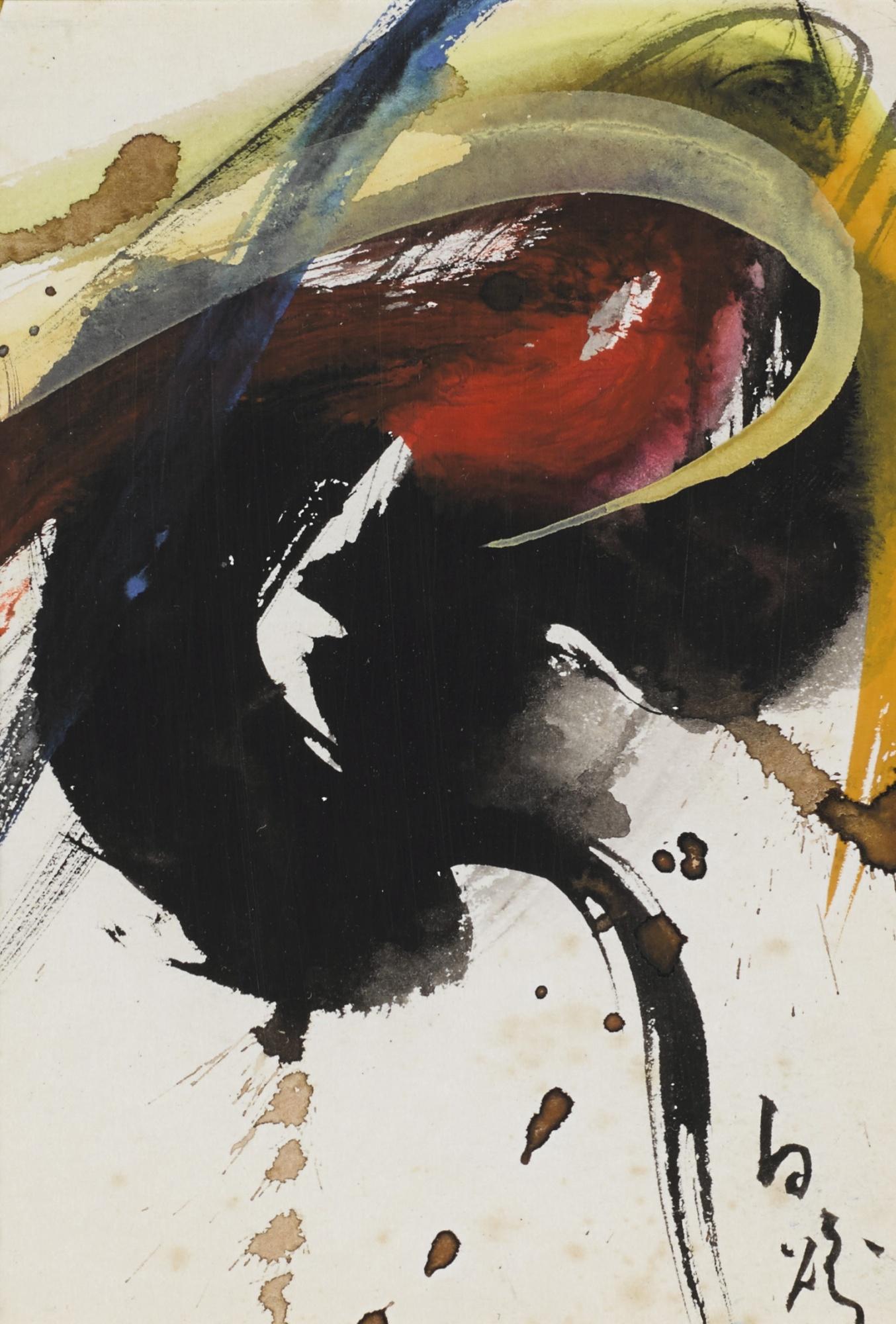 Kazuo Shiraga-Untitled-1961