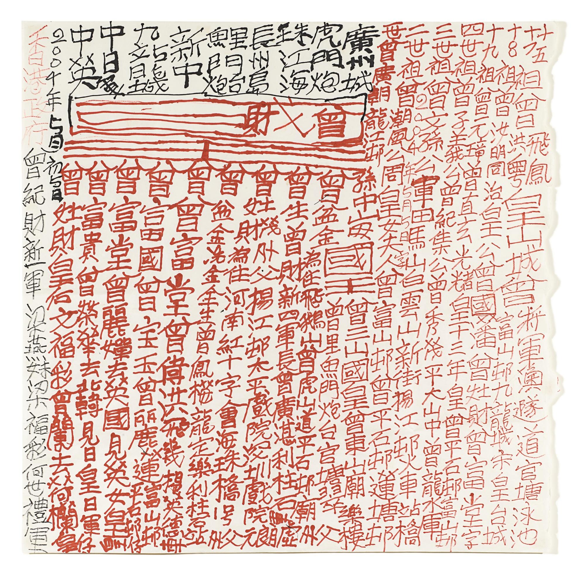 Tsang Tsou Choi-Calligraphy-2004