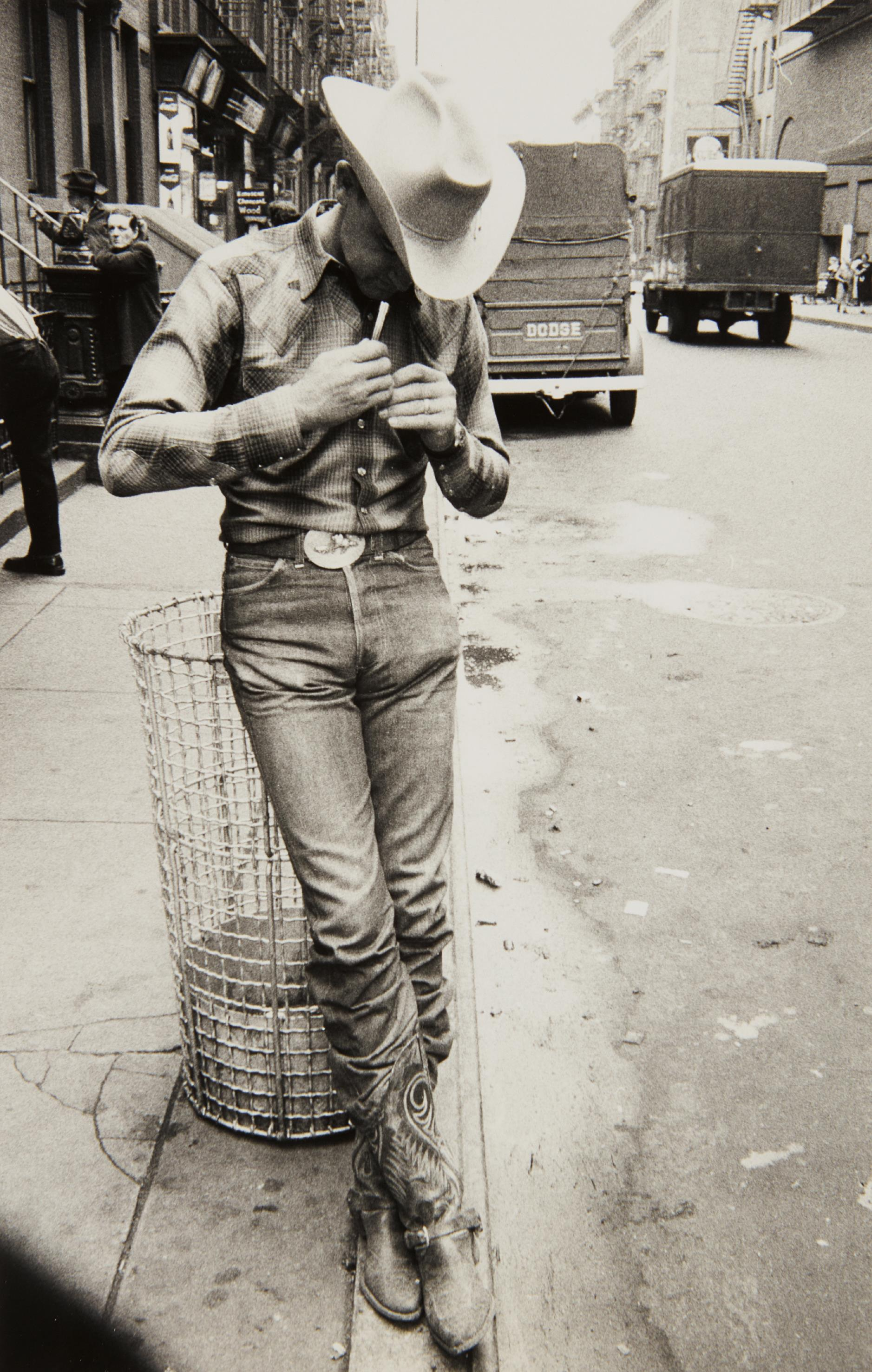 Robert Frank-Rodeo - New York City-1954