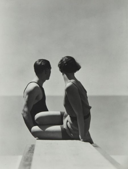 George Hoyningen-Huene-Divers, Horst with Model, Paris-1930
