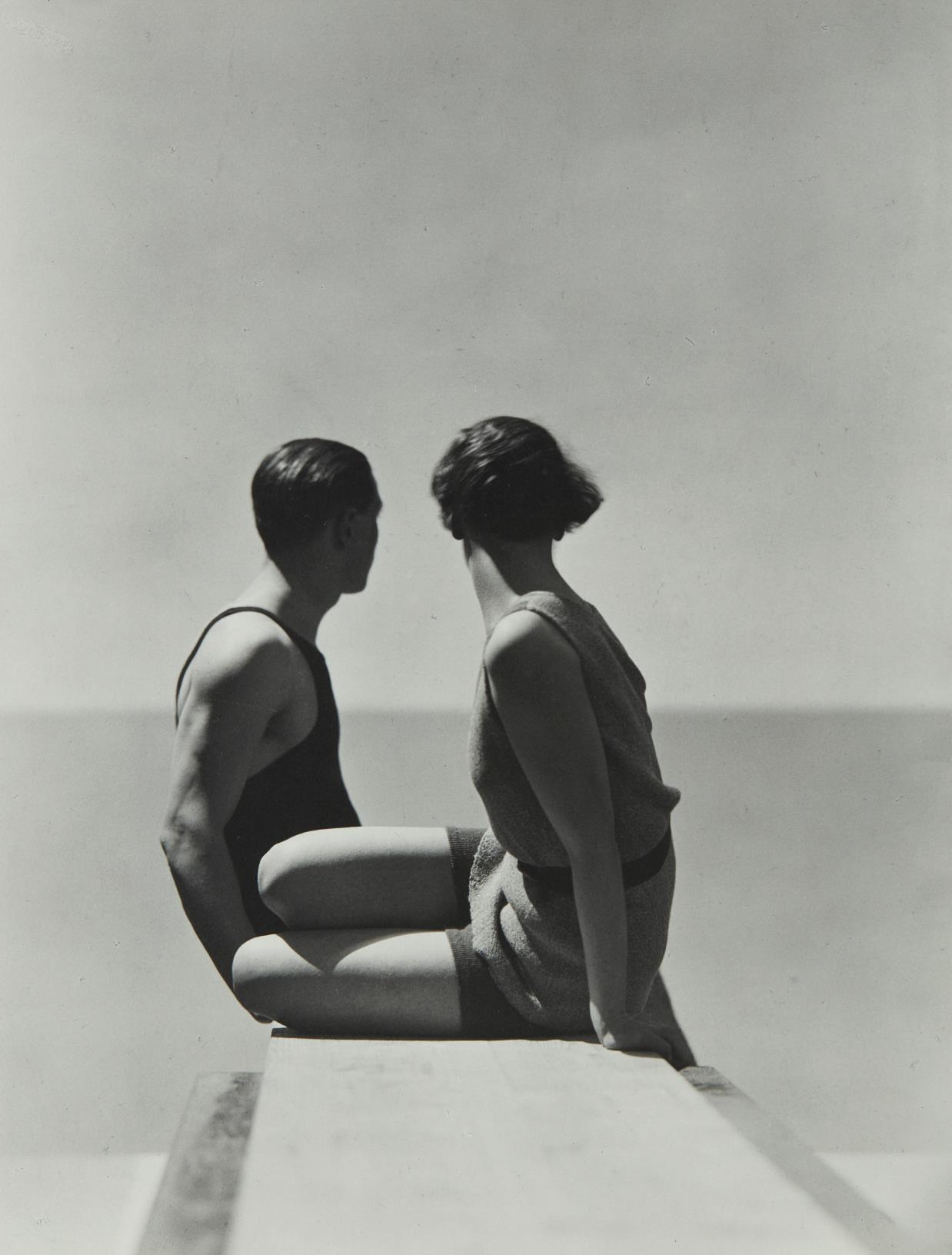 George Hoyningen-Huene-Divers, Horst with Model, Paris-1930