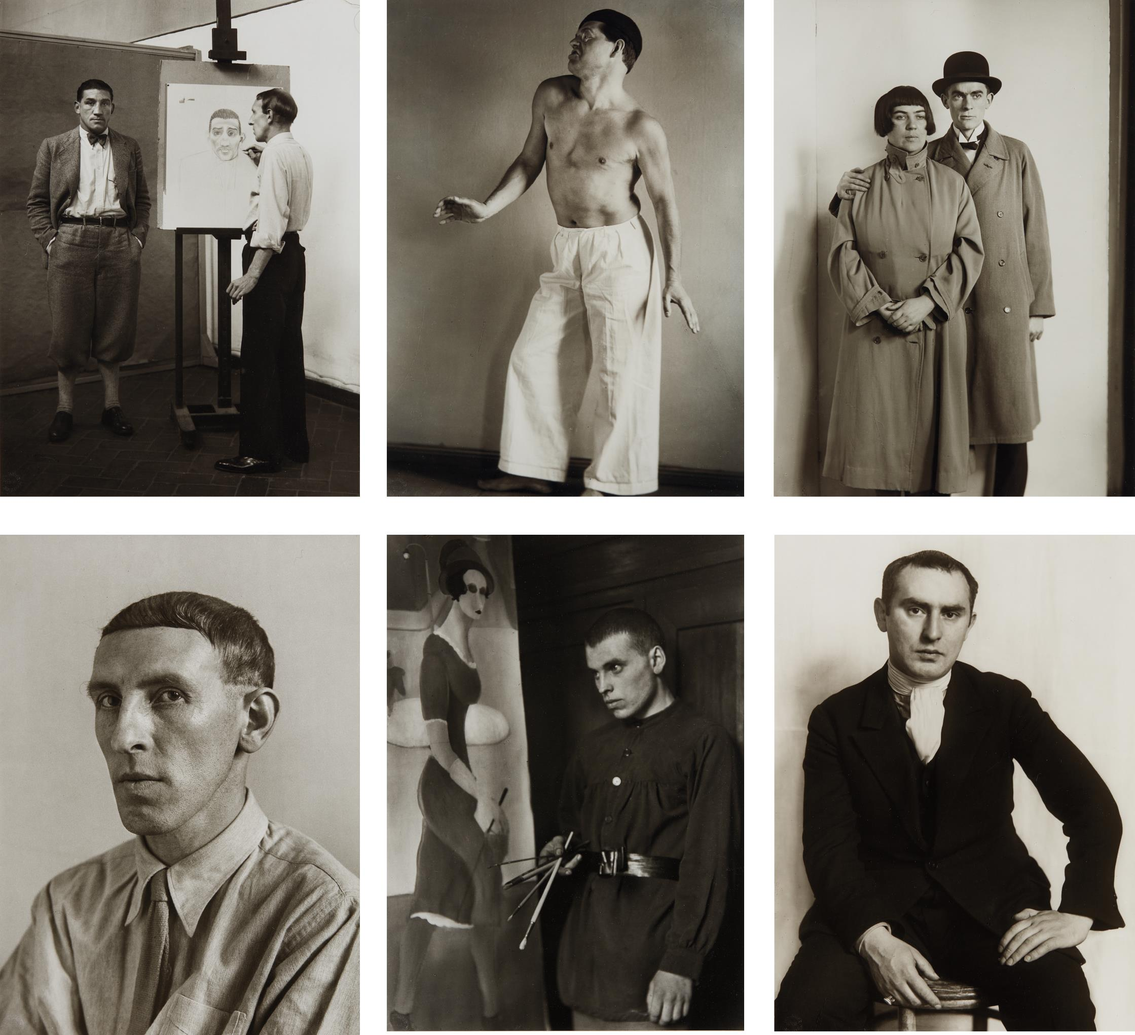 August Sander-Selected images from Portraits of Artists-1930
