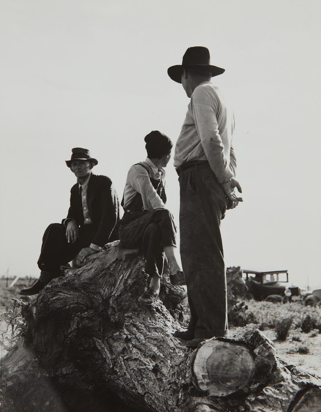 Dorothea Lange-Near Shafter, California, Migratory Laborers, February-1939