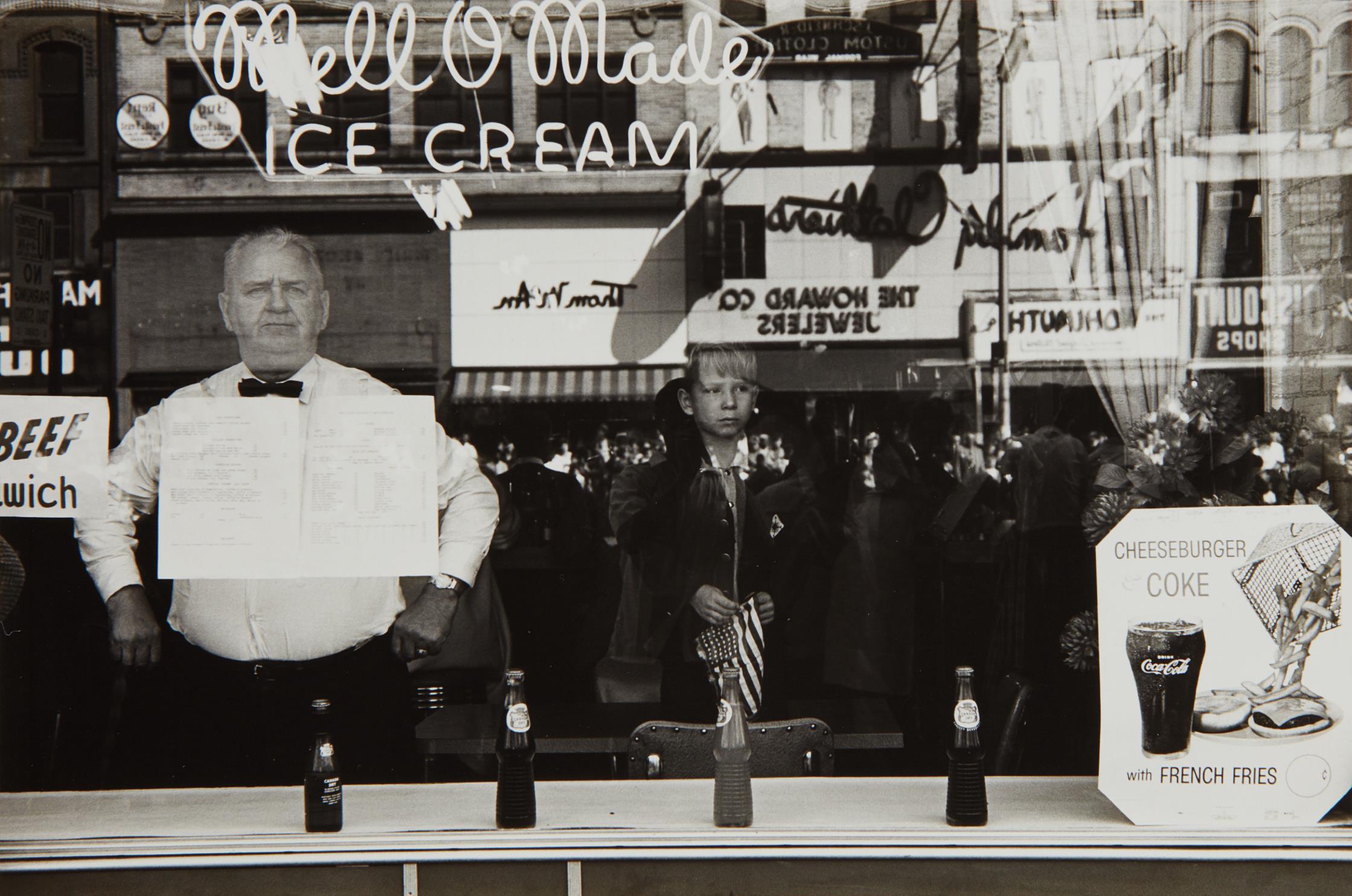 Lee Friedlander-Newark, N.J.-1962