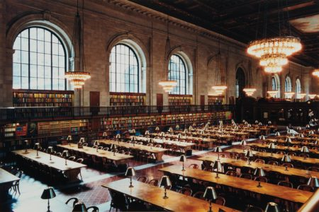 Candida Hofer-New York Public Library V-1999