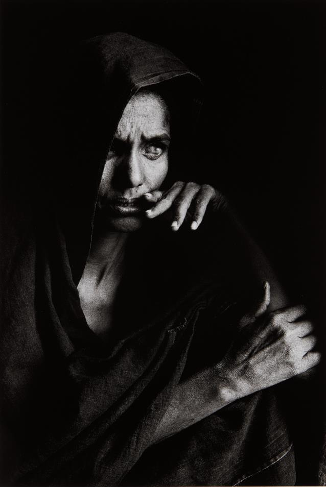 Sebastiao Salgado-Blind Woman, Mali-1985