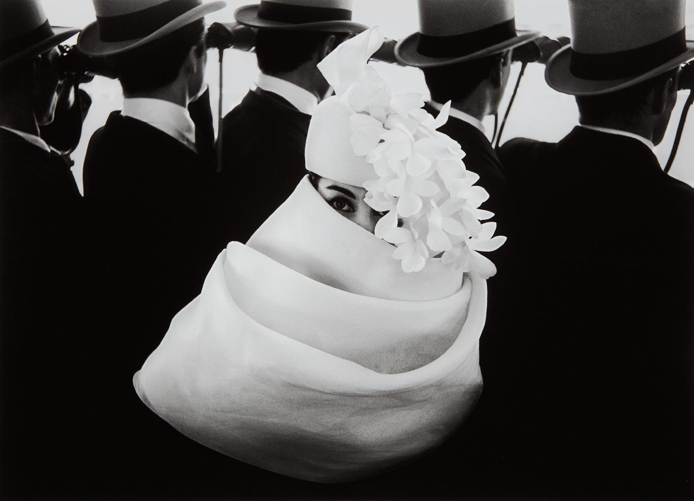 Frank Horvat-Givenchy Hat A, Paris-1958