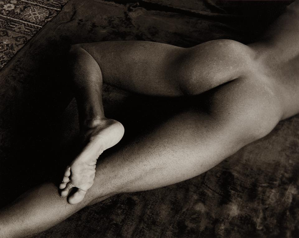 Minor White-Nude, Foot, San Francisco-1947