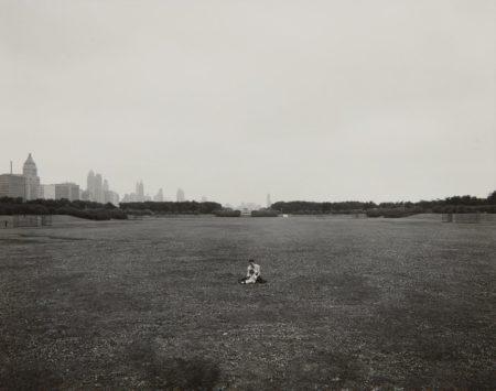 Harry Callahan-Eleanor & Barbara, Chicago (Grant Park)-1953