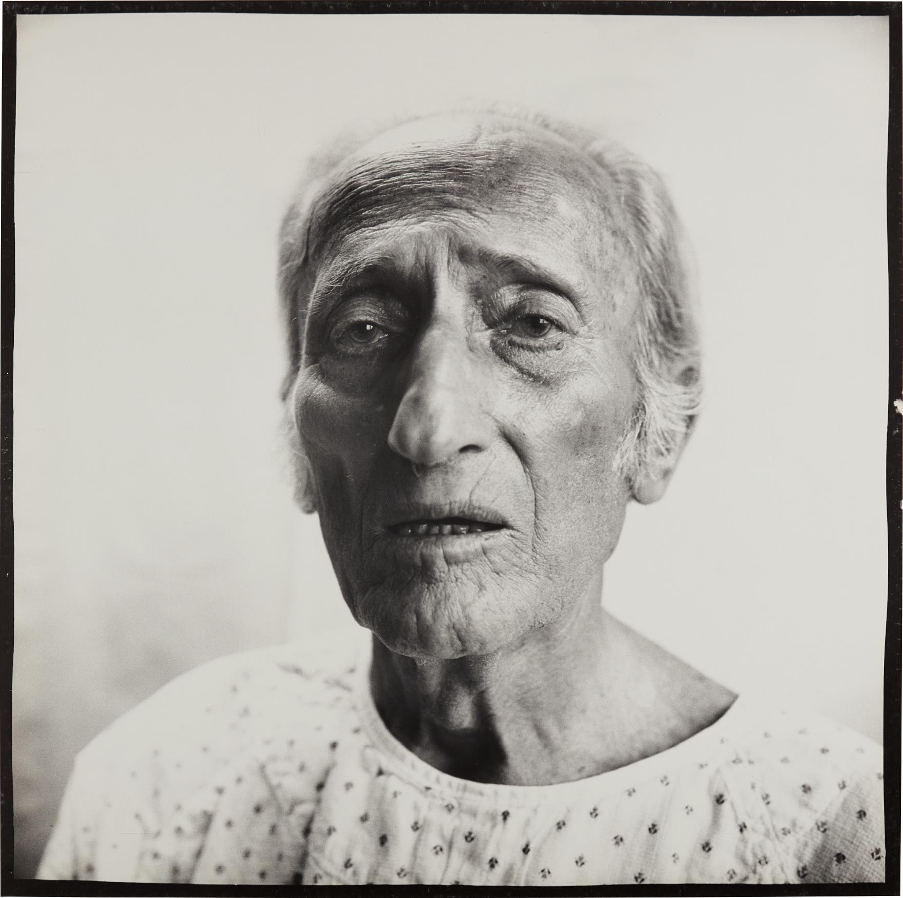 Richard Avedon-Jacob Israel Avedon, Father of Photographer, Sarasota 12.19.72-1972