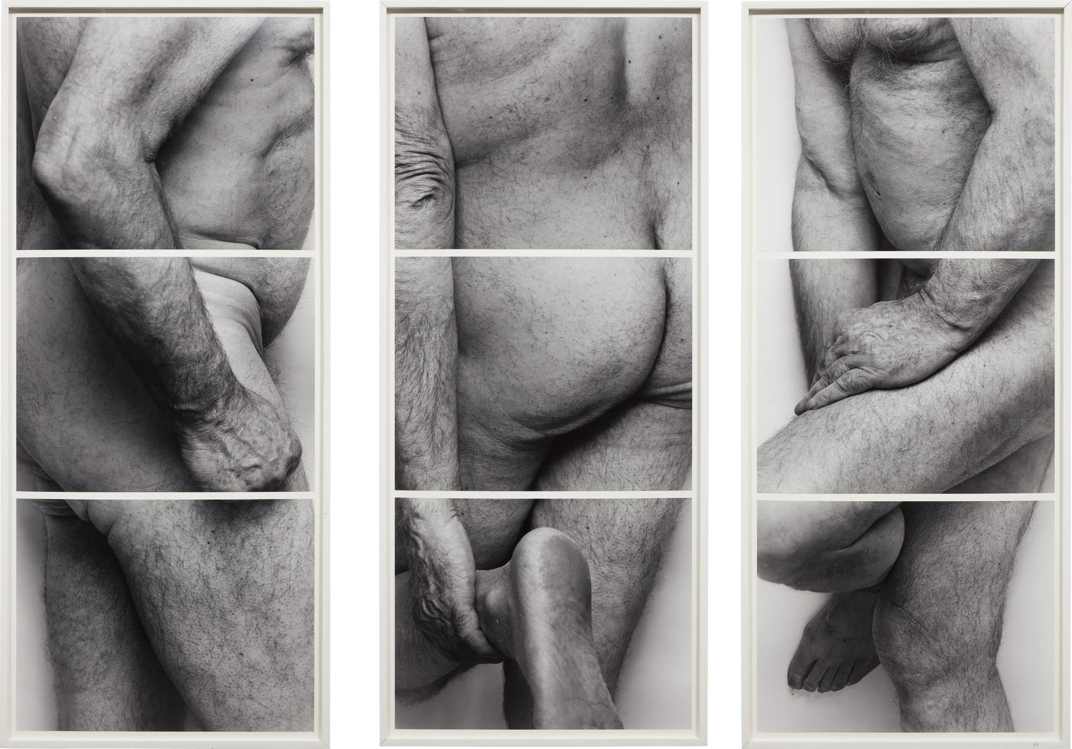 John Coplans-Self-Portrait, Frieze, No. 4, 3 Panels-1994