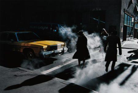 Ernst Haas-Crosswalk, New York City-1980