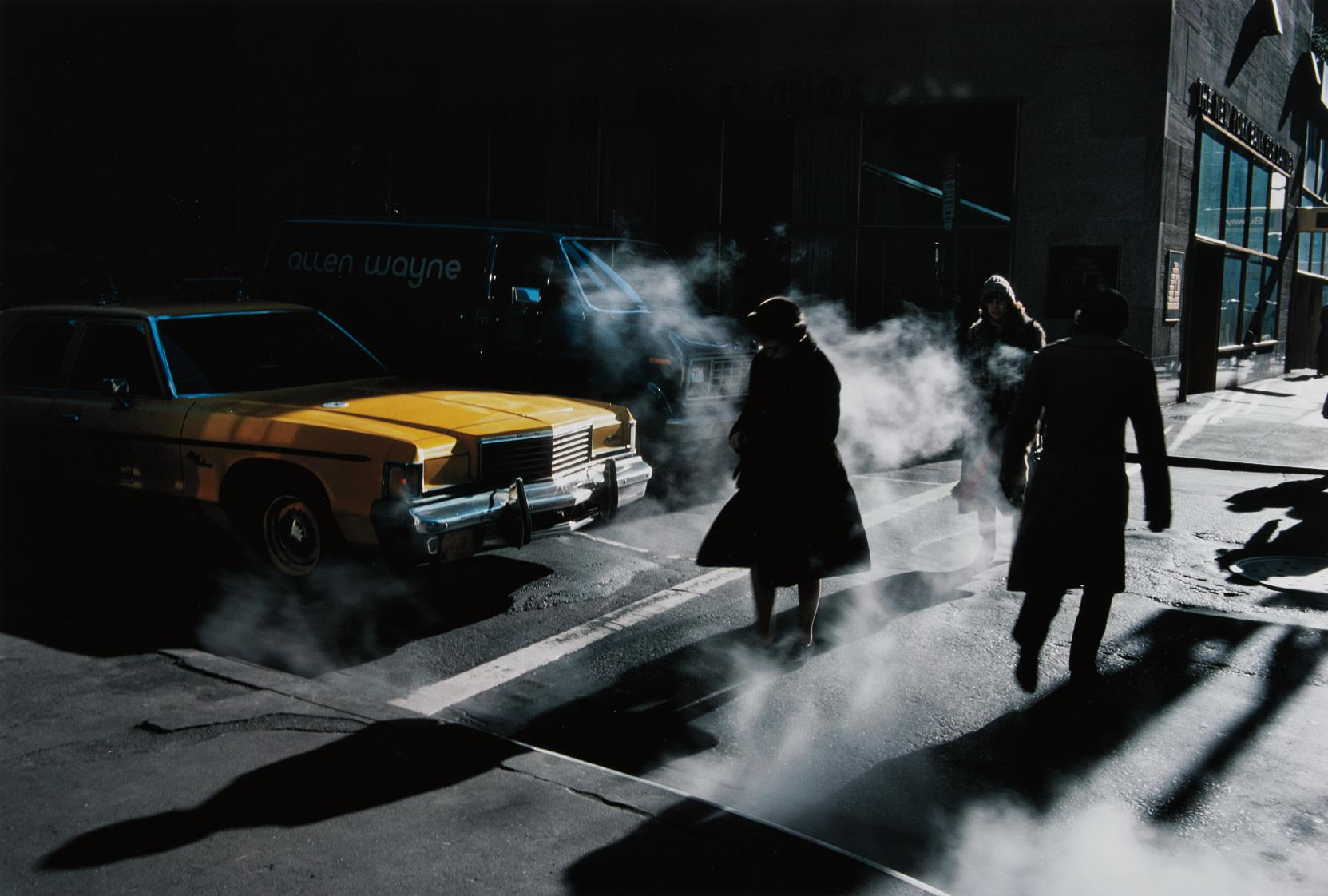 Ernst Haas-Crosswalk, New York City-1980