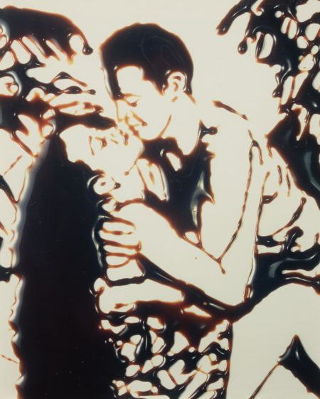 Vik Muniz-Kissing in the Tropics from Pictures of Chocolate-1997