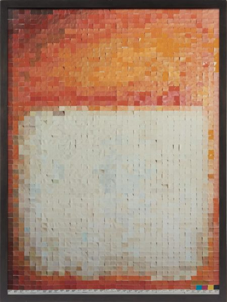 Vik Muniz-After Rothko from Pictures of Color-2001