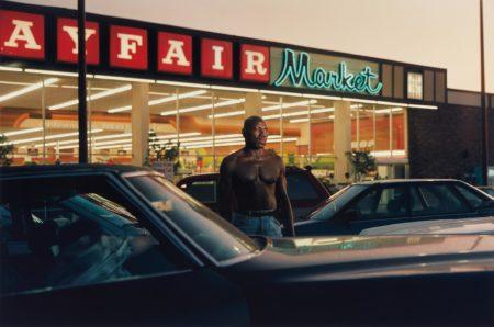 Philip-Lorca diCorcia-Ike Cole, 38 years old, Los Angeles, California, $25 (Mayfair Market)-1992
