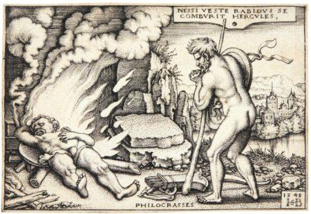 Hans Sebald Beham-The Labours Of Hercules (Pauli 99-109; Bartsch, Hollstein 97-107)-1548