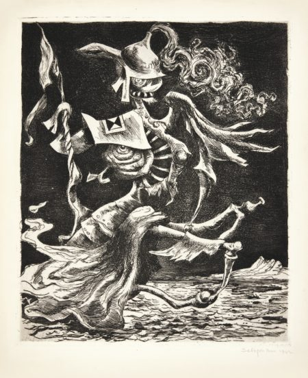 Kurt Seligmann-Phantom Of The Past (Mason 116)-1942