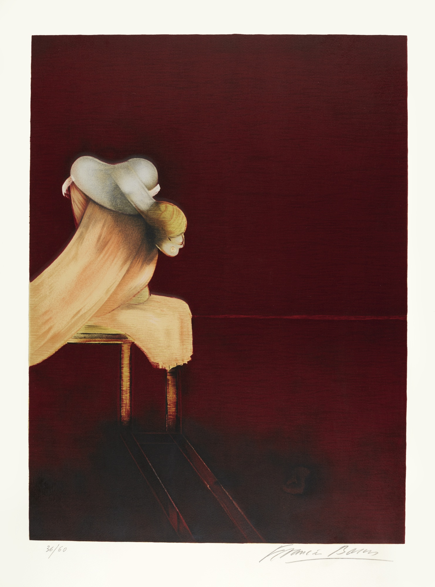 Francis Bacon-Second Version Of The Triptych 1944 (Sabatier 24)-1989