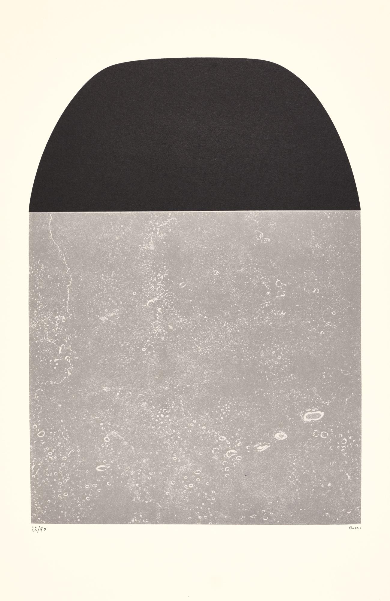Alberto Burri-Untitled (Trittico) (Calvesi 63-65)-1975