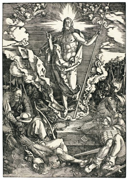 Albrecht Durer-The Last Supper; The Kiss Of Judas; The Flagellation; Ecce Homo; And The Resurrection (B. 5, 7-9, 15; M., Holl. 114, 116-118, 124)-1510