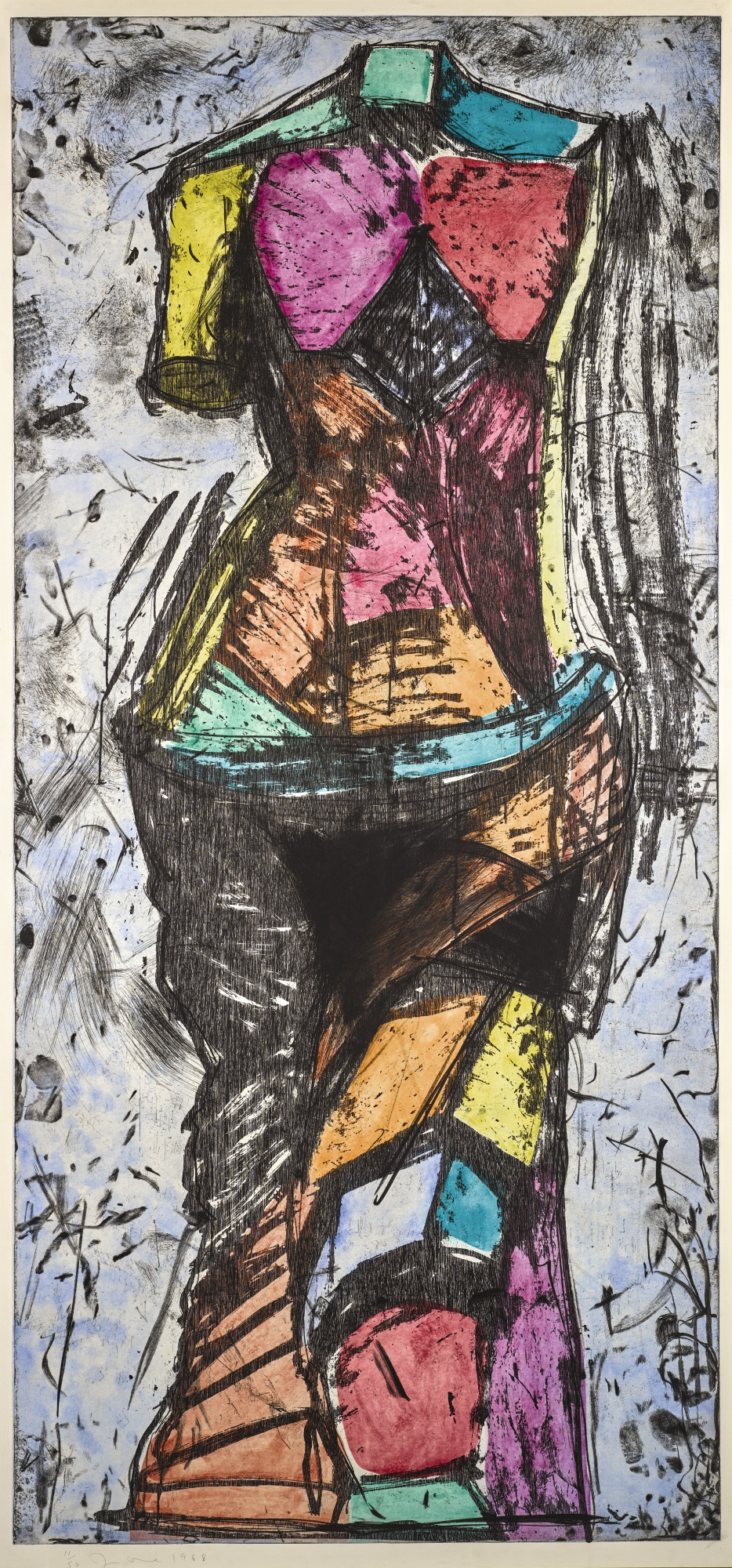 Jim Dine-The Oil Of Gladness (Carpenter 20)-1988