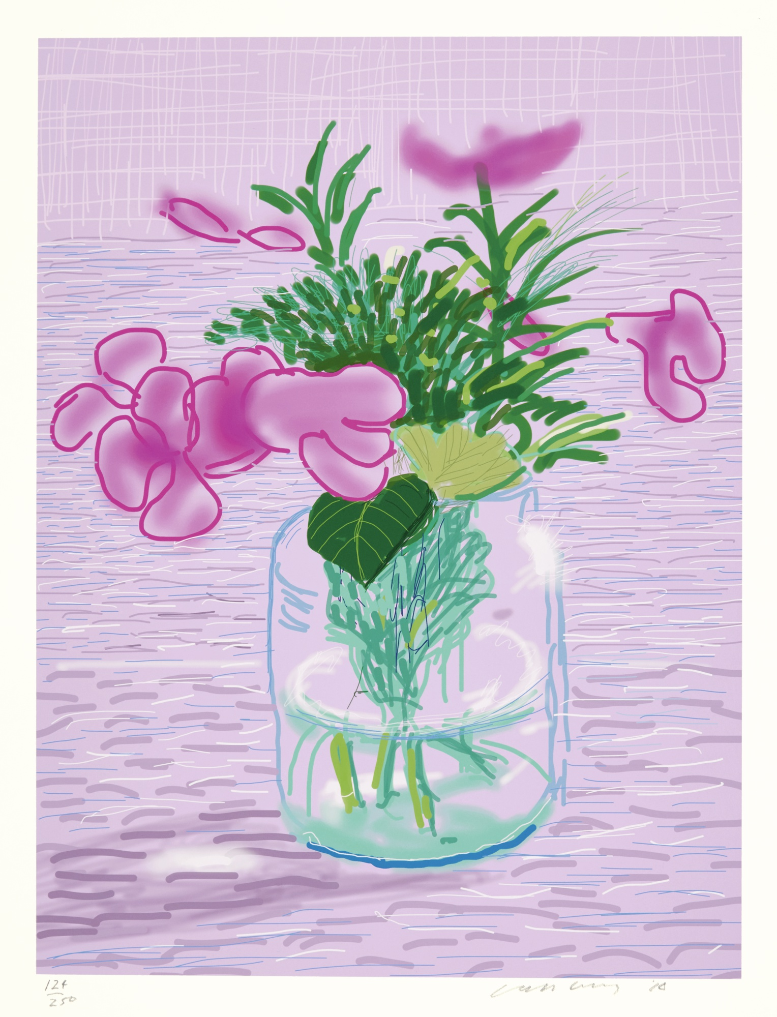 David Hockney-Flowers-2010