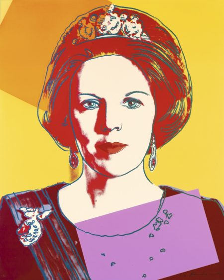 Andy Warhol-Queen Beatrix Of The Netherlands (Royal Edition) (F. & S. II.341A)-1985