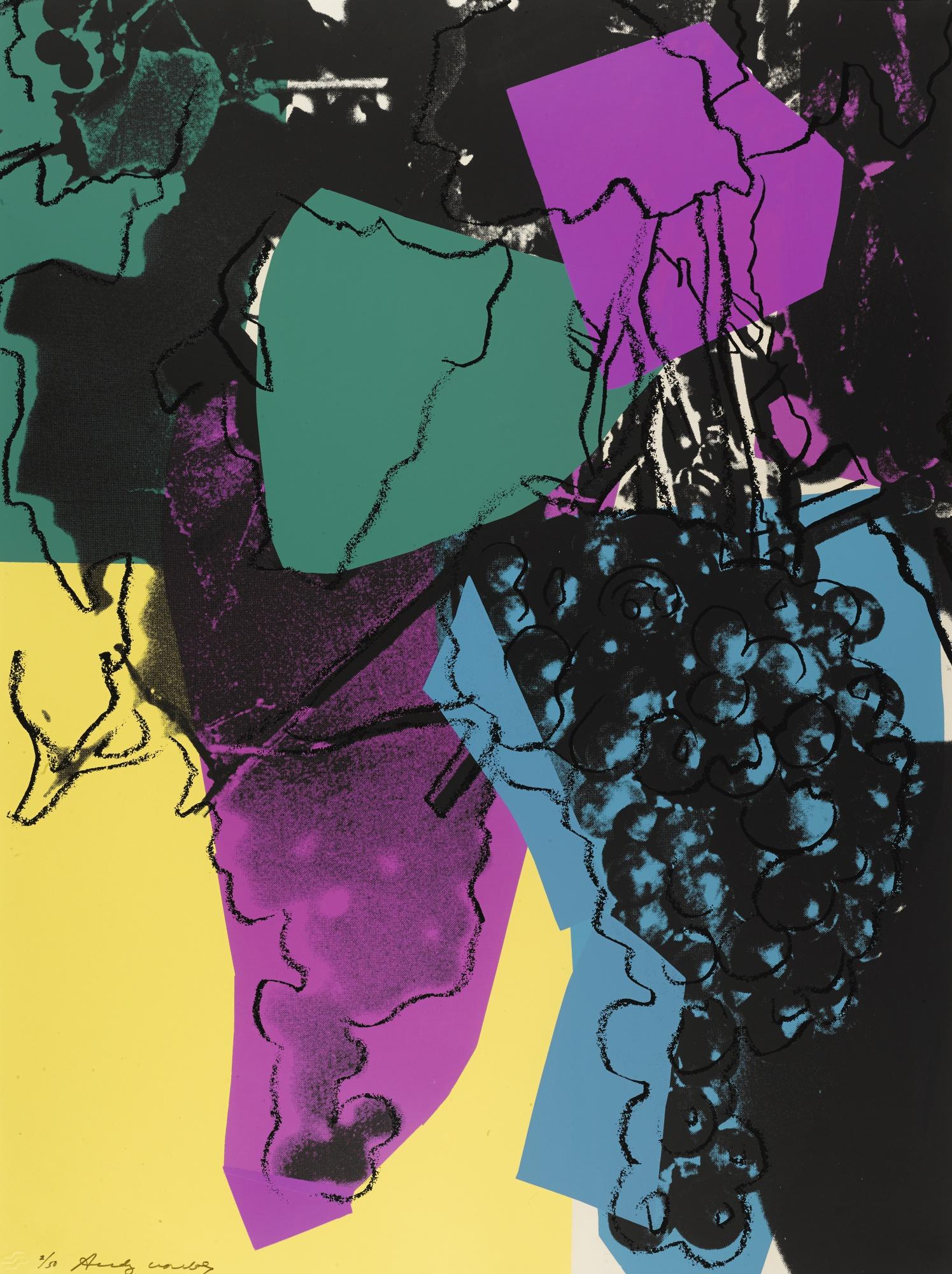 Andy Warhol-Grapes (F. & S. II.195)-1979