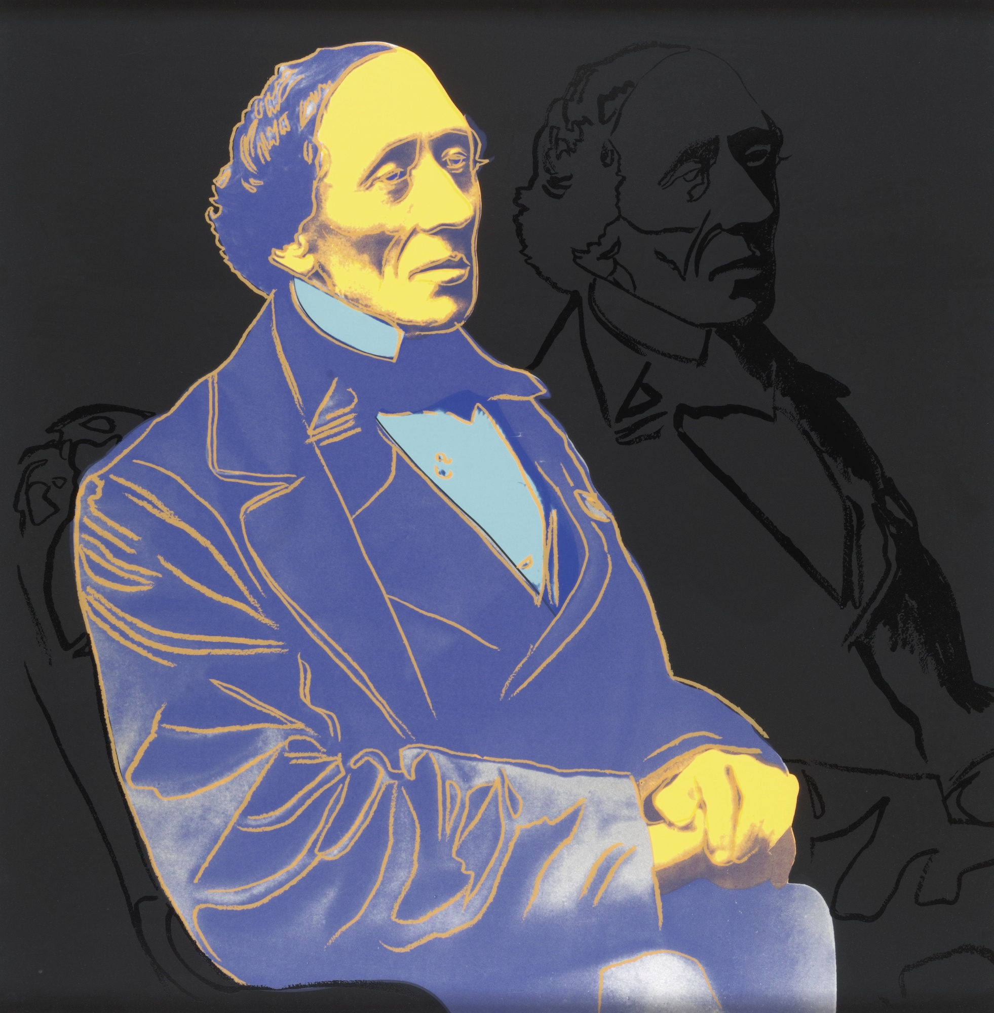 Andy Warhol-Hans Christian Anderson (F. & S. II.398-401)-1987