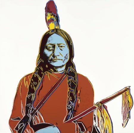 Andy Warhol-Sitting Bull (F. & S. IIIa.70)-1986