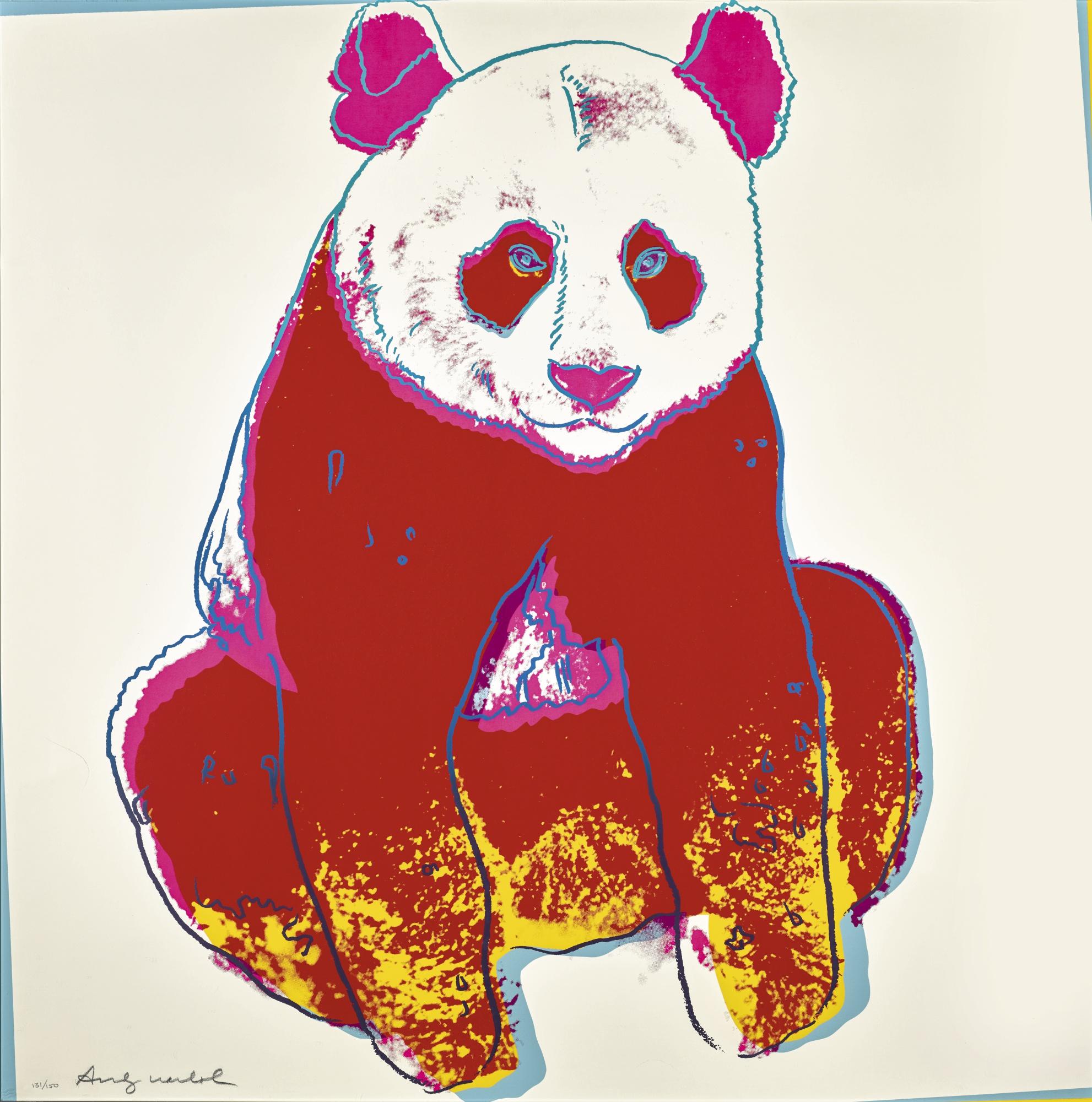 Andy Warhol-Giant Panda (F. & S. II.295)-1983