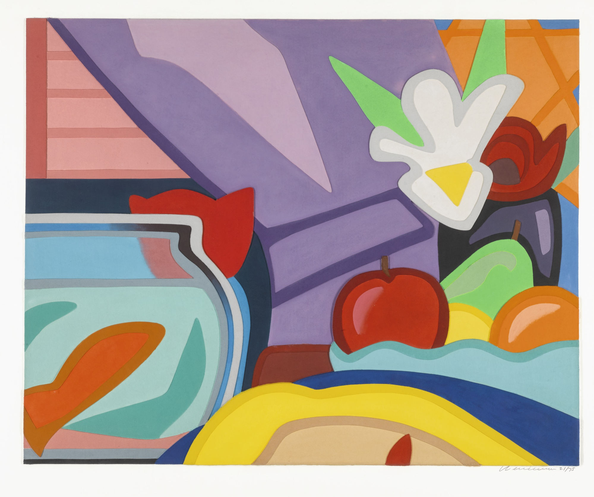 Tom Wesselmann-Still Life With Blonde And Goldfish-2000