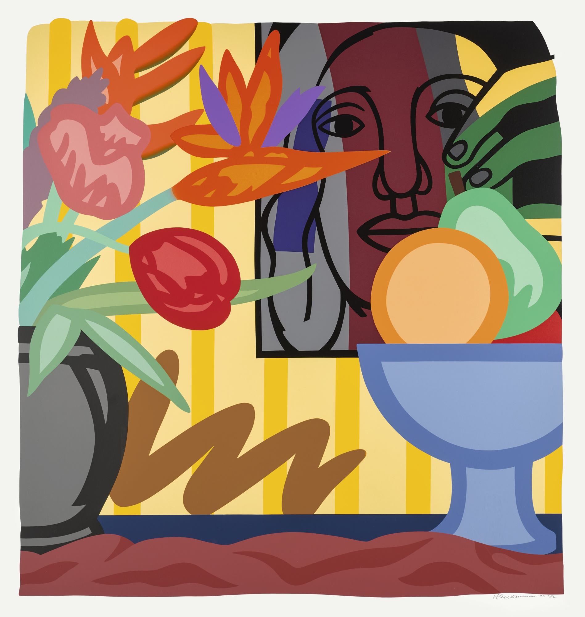 Tom Wesselmann-Mixed Bouquet With Leger-1993