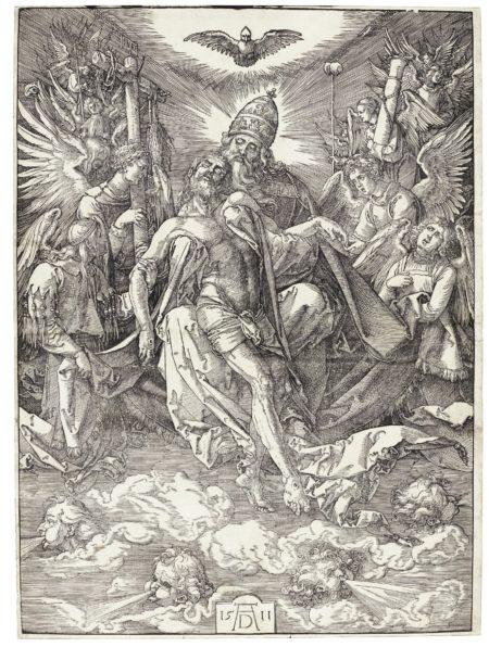 Albrecht Durer-The Holy Trinity (B. 122; M., Holl. 187)-1511