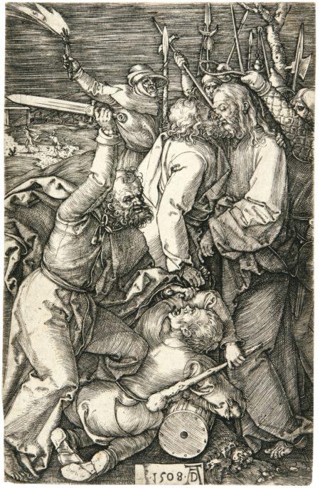 Albrecht Durer-The Betrayal Of Christ (B., M., Holl. 5)-1508