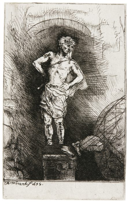 Rembrandt van Rijn-The Image Seen By Nebuchadnezzar (B., Holl. 36A; New Holl. 288A; H. 284)-1655