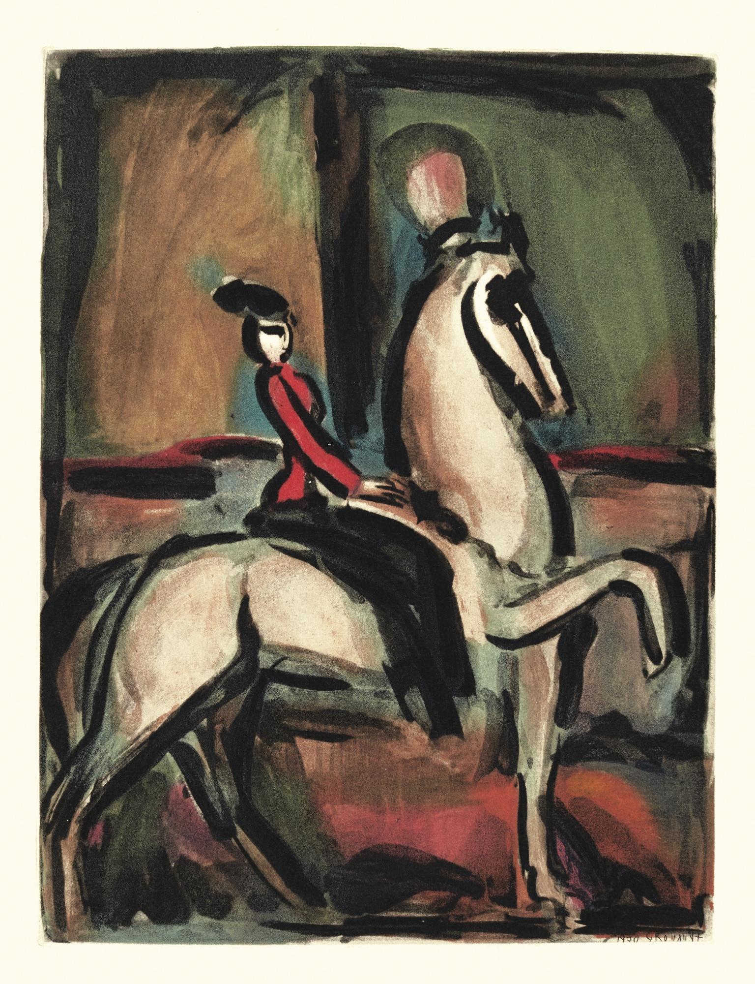 Georges Rouault-Cirque (Chapon & Rouault 198-205)-1930