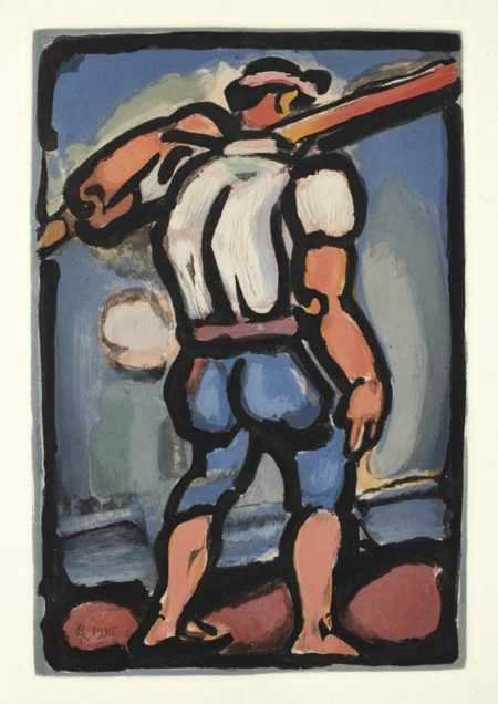Georges Rouault-Andres Saures. Passion (C. & R. 257-273)-1939