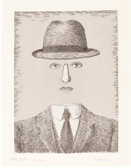 Rene Magritte-Paysage De Baucis (K. & B. 5)-1966