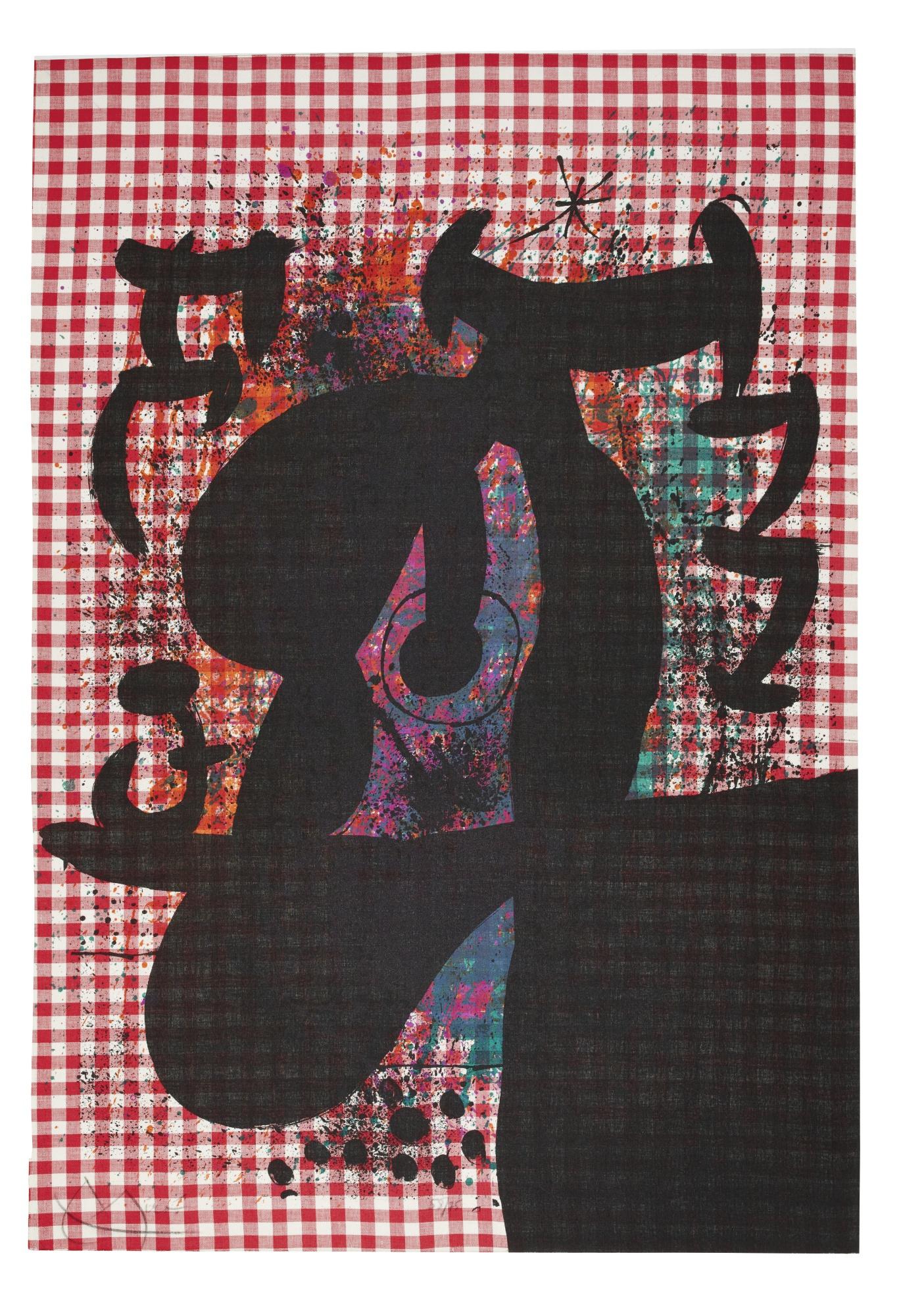 Joan Miro-Le Bagnard-1969