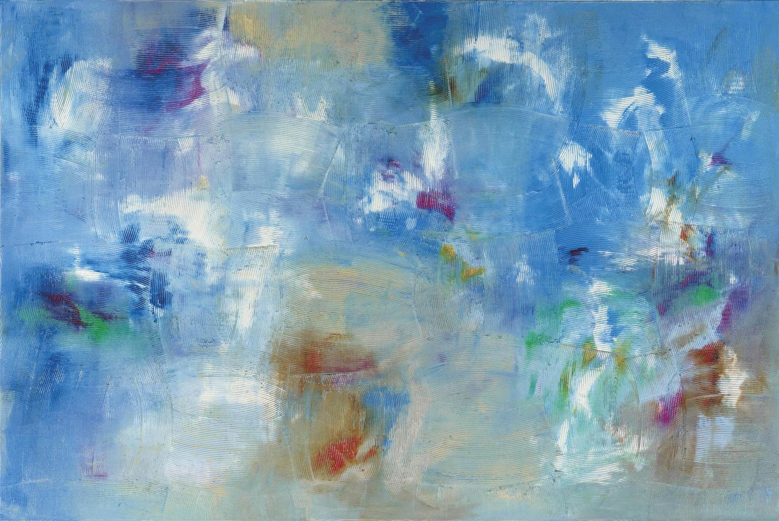 Dan Rees-Artex Painting-2013