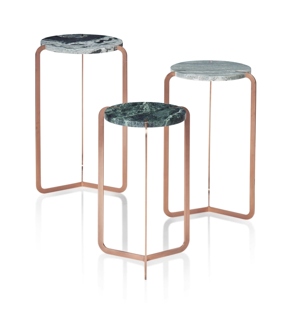 Pieter Henning - A Set Of Regular Stone Occasional Tables-2016