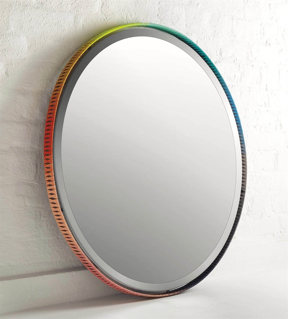 Aimee Betts - A' Colour Wheel' Mirror-2015-2014