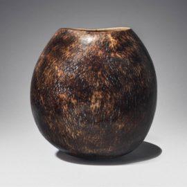 Nic Webb-A Unique 'Flamed Moon Jar'-2015