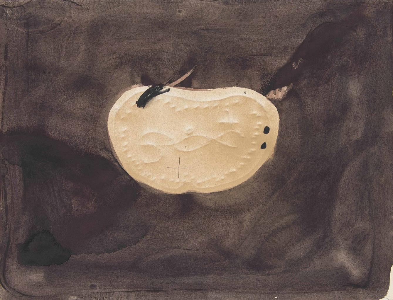 Antoni Tapies-El Pectoral (The Pectoral)-