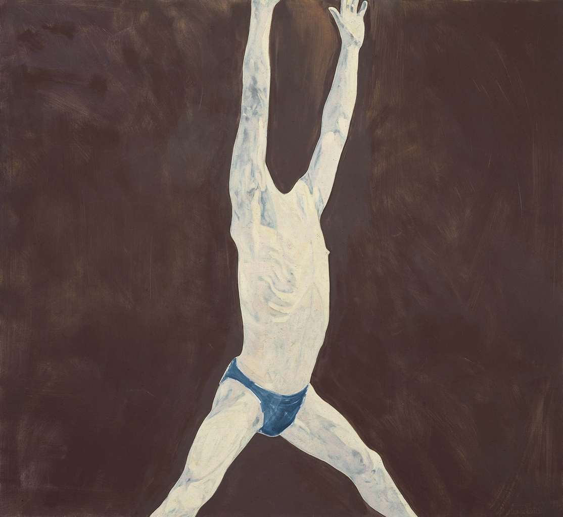 Nicola Tyson-Body #1-1997