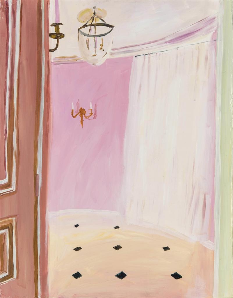 Karen Kilimnik-The Pink Room-2002