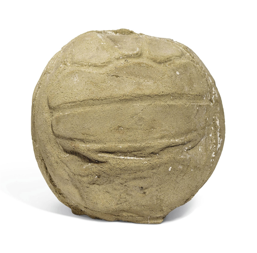 Sarah Lucas-Concrete Bladder Ball-2002