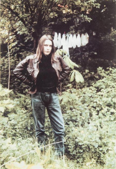 Sarah Lucas-Self Portrait With Knickers-1994